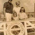 An early trip to Miami Beach. Dig the cool shades.