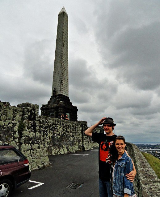Zoe and Windon One Tree Hill in Auckland