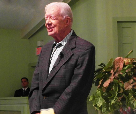 jimmy carter preaching plains georgia