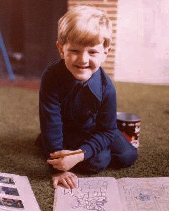 Ken Jennings as a child