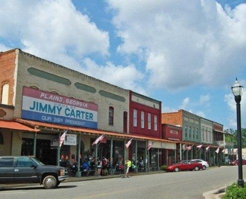 Plains Georgia Main Street