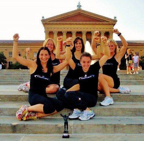 Rocky steps Philadelphia Core Fitness