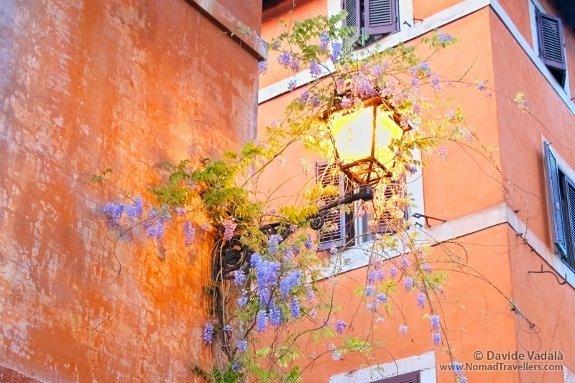 rome trastavare street scene