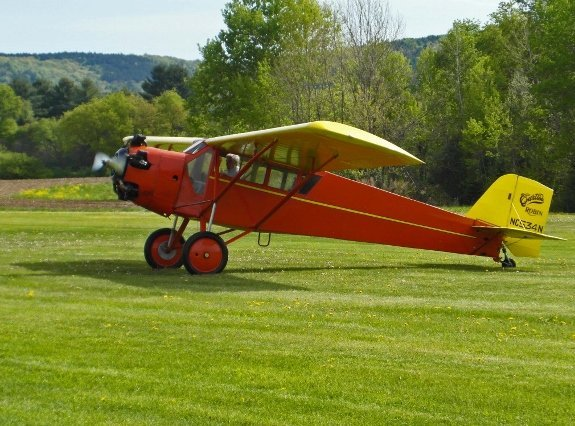 vintage curtiss airplane