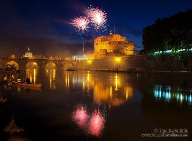 free things to do in rome fireworks