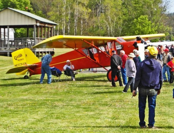 airplane fly-in breakfast in cooperstown