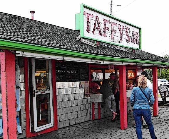 best hot dogs in buffalo NY taffys