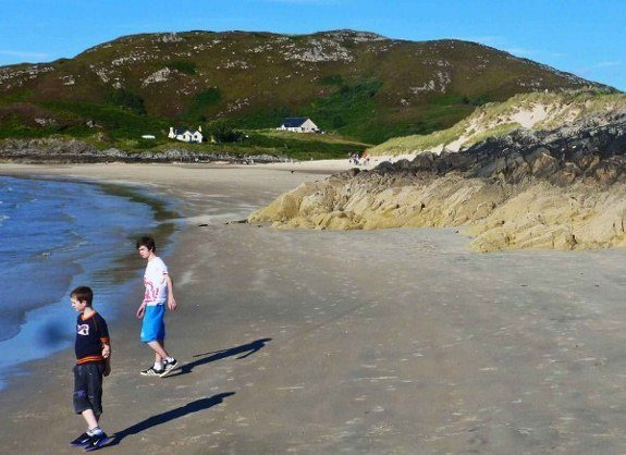 Filming locations for Local Hero Camusdarach Beach