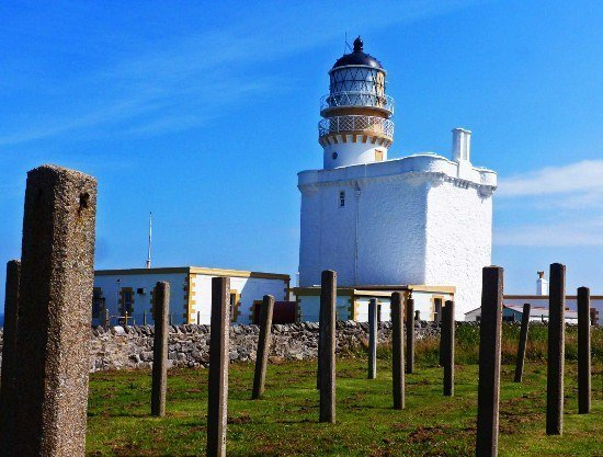 Kinnaird Head Lighthouse in Scotland