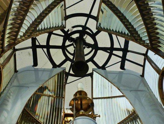 Kinnaird Head Lighthouse in Scotland prismatic lenses