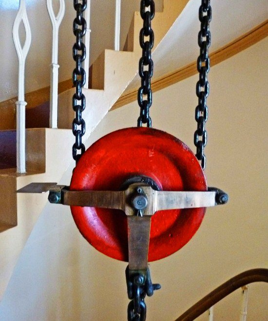 Kinnaird Head Lighthouse in Scotland pulley