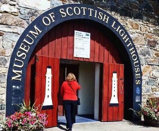 Museum of Scottish Lighthouses entrance