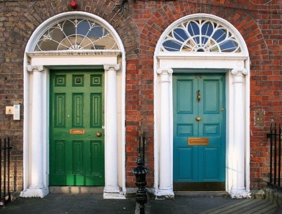 dublin architecture doors