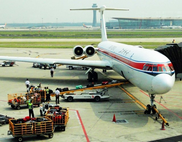 air koryo airplane north korea