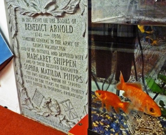 benedict arnold buried in london