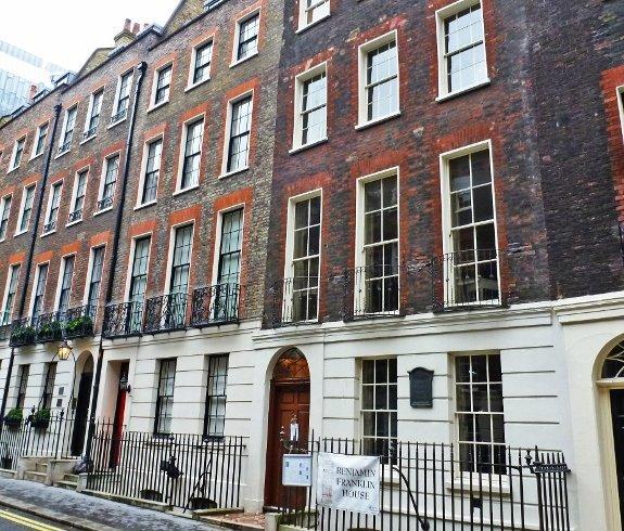 benjamin franklin house london