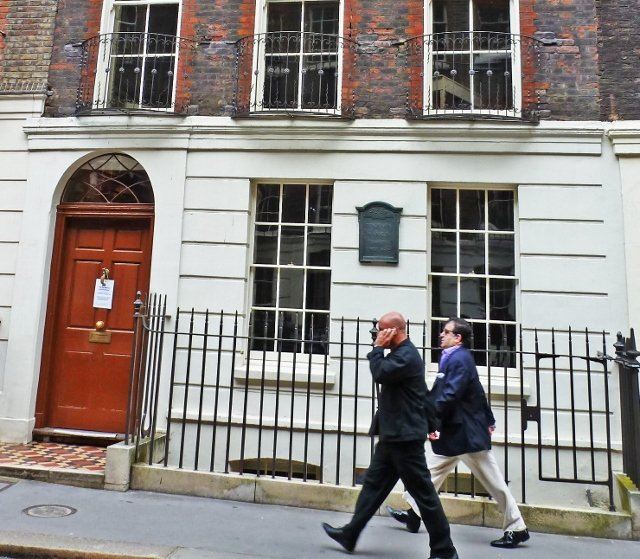 benjamin franklin house in london craven street