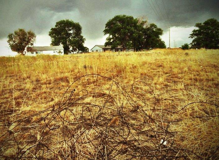 minidoka japanese internment camp barbed wire