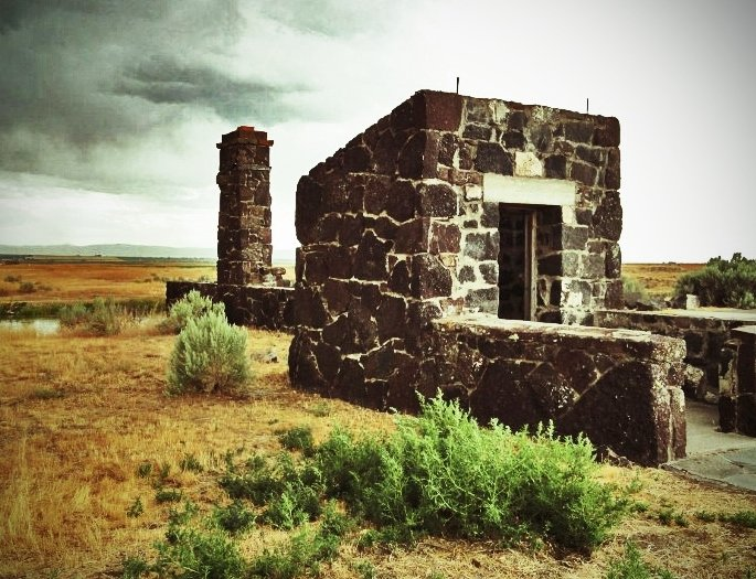 minidoka japanese internment camp guard house