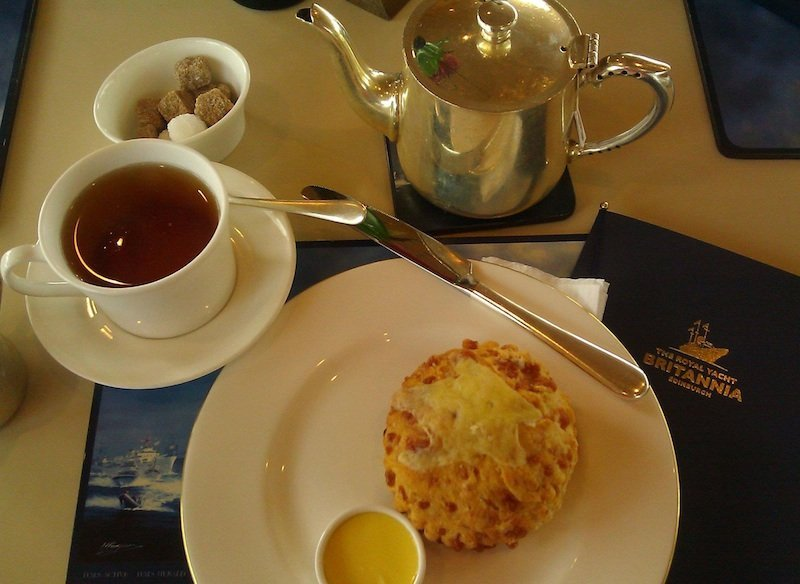 Royal Yacht Britannia-Afternoon Tea