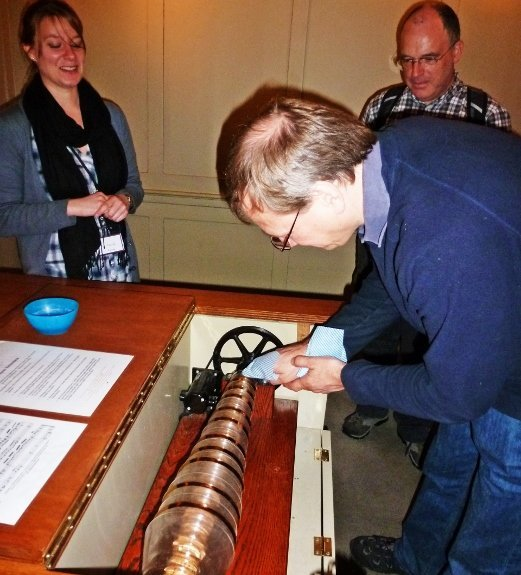 benjamin franklin house in london glass armonica