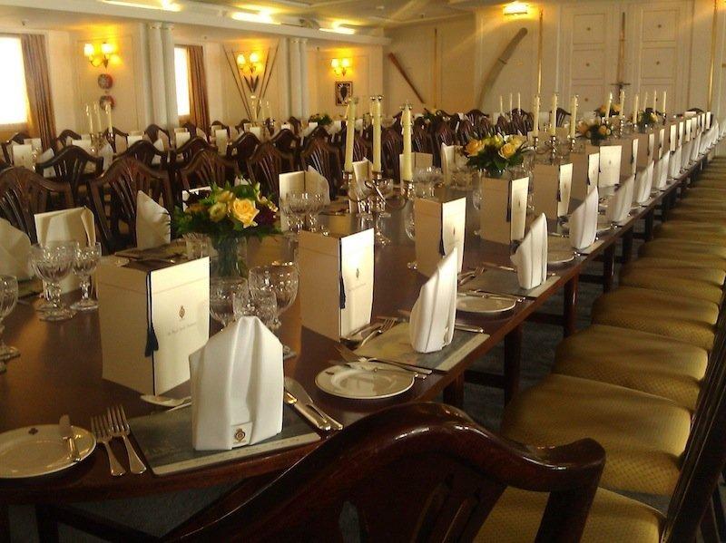dining room her majesty's yacht britannia
