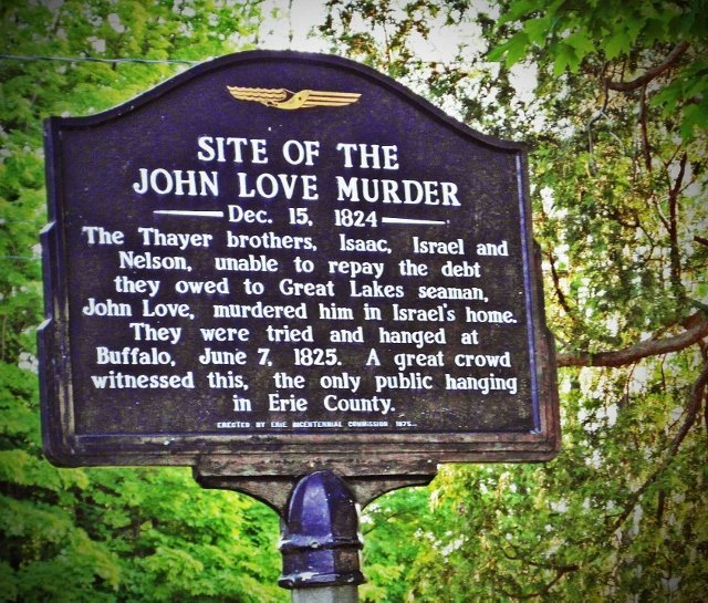 Buffalo john love murder sight