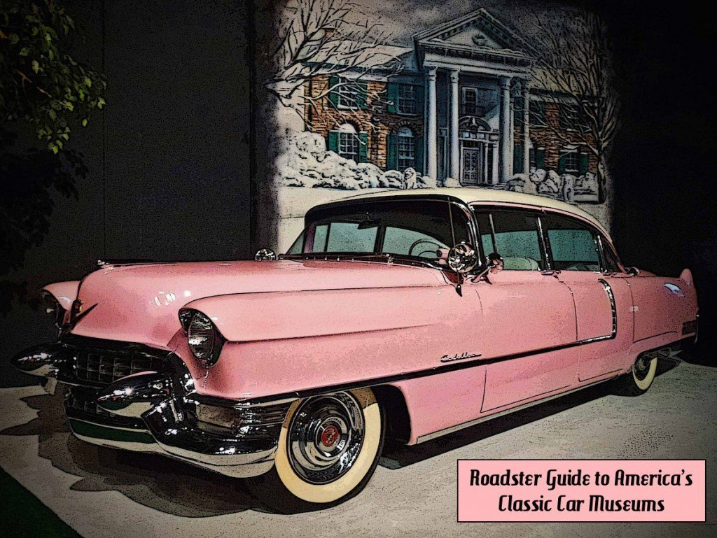 Elvis Presley Pink Cadillac at Graceland|Memphis attractions