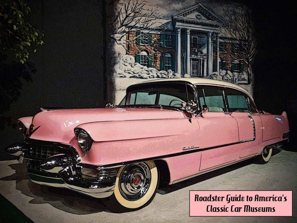 Elvis Presley Pink Cadillac at Graceland