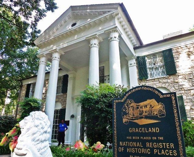 Graceland front door