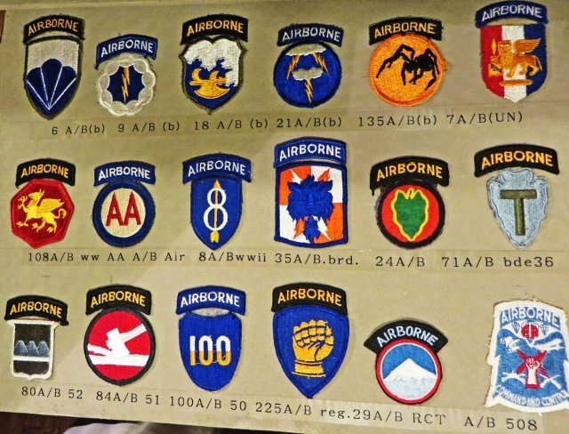 airborne patches d-day