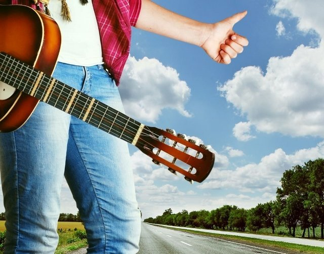 top road trip songs guitar