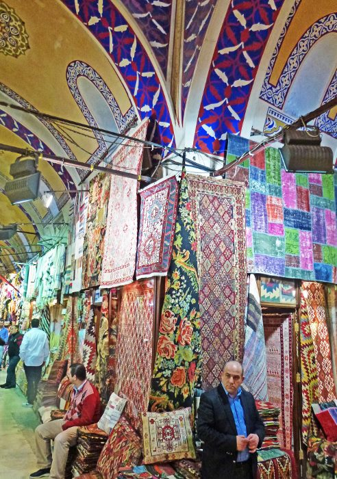 grand bazaar istanbul carpet store