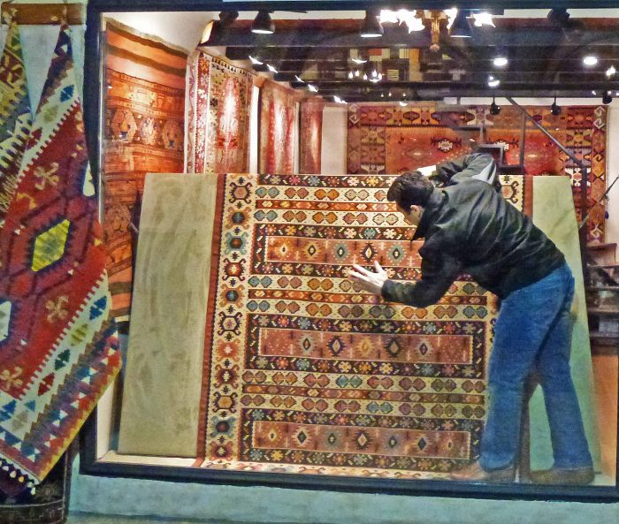 Grand Bazaar Istanbul carpet shop