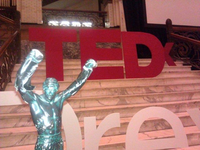 Little Rocky TEDx DrexelU