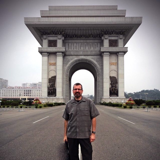 Sights in North Korea-Arch of Triumph