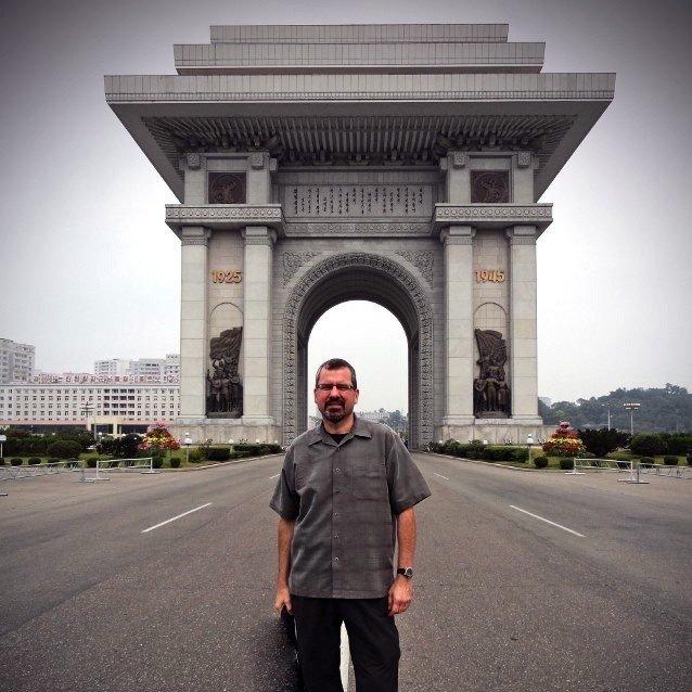 Sights in North Korea-Arch of Triumph