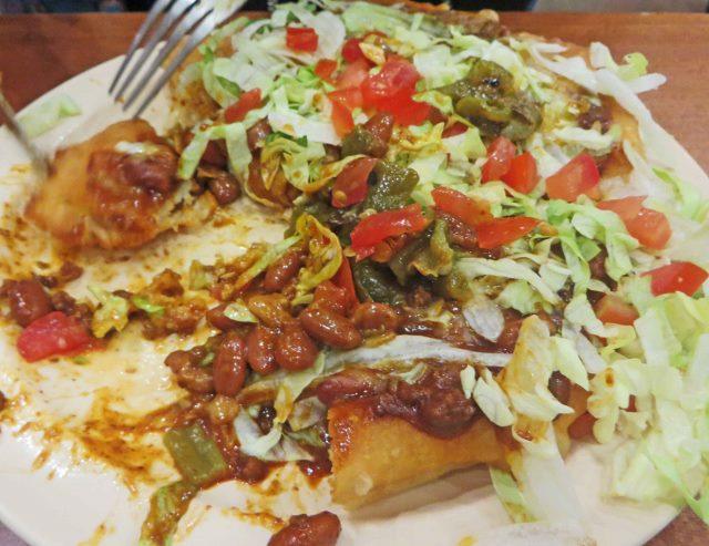 Navajo fry bread tuuvi cafe half eaten (640x493)