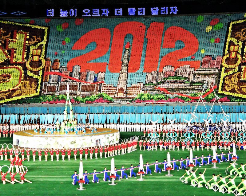 Extreme sights: North Korea Mass Games-Milne