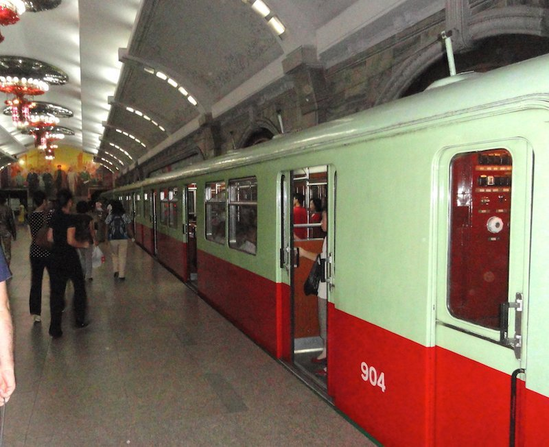 Pyongyang Subway: extreme sights in North Korea-Milne