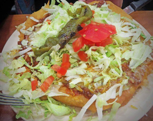 navajo fry bread tacos