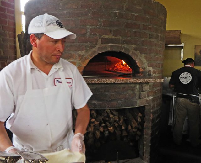 pizzeria bianco wood burning oven