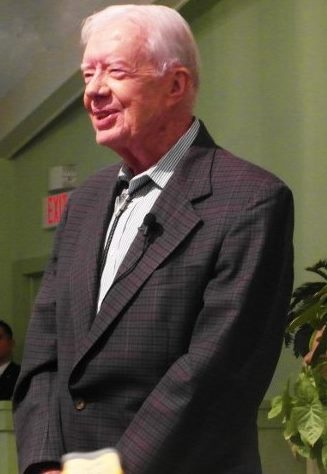 jimmy carter preaching church