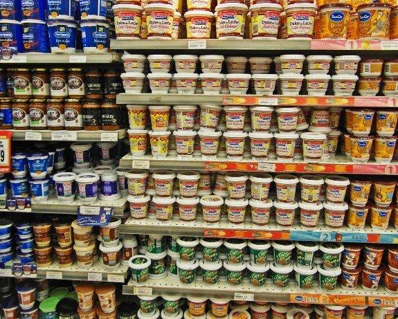 jars supermarket shelf