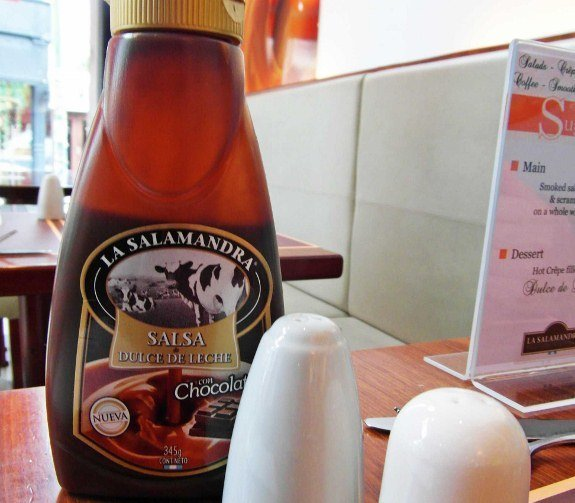 La Salamandra condiment