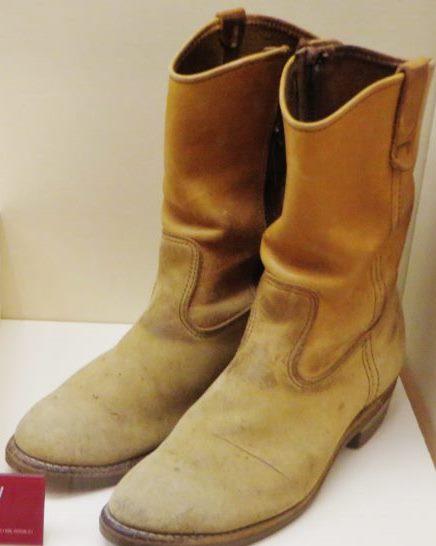 ronald reagan cowboy boots