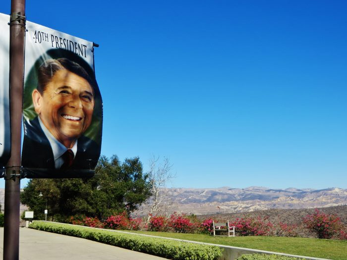visiting the reagan library view (700x525)