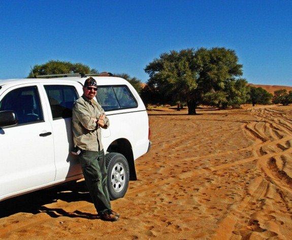 Soussevlei sand dunes Namibia