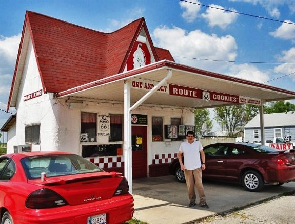 Dairy King Route 66 Commerce Oklahoma