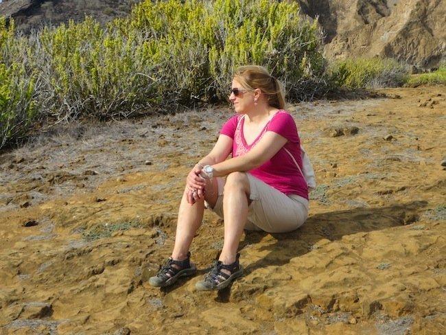 Hiking in the Galapagos